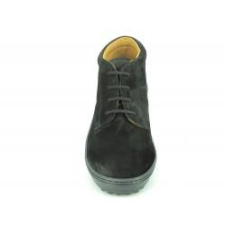 Chaussures Montantes 140 Noir Croûte de Cuir