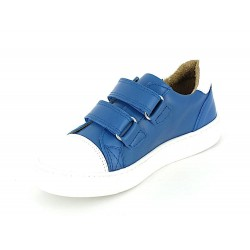 H17.2010-2V Bleu Royal Cuir